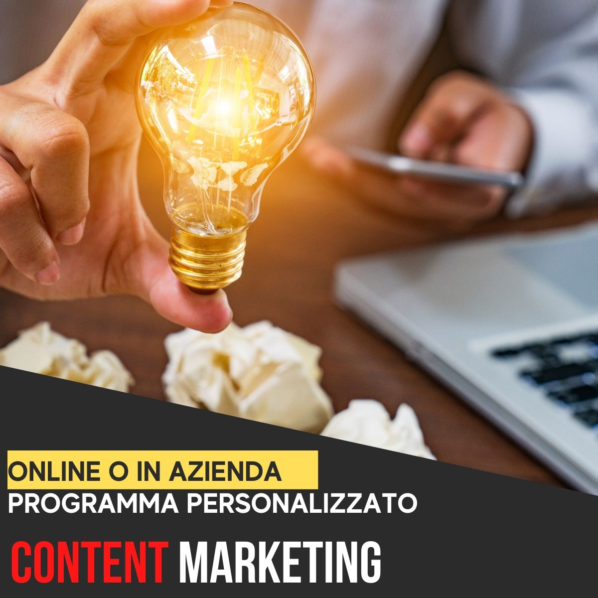 corso content marketing